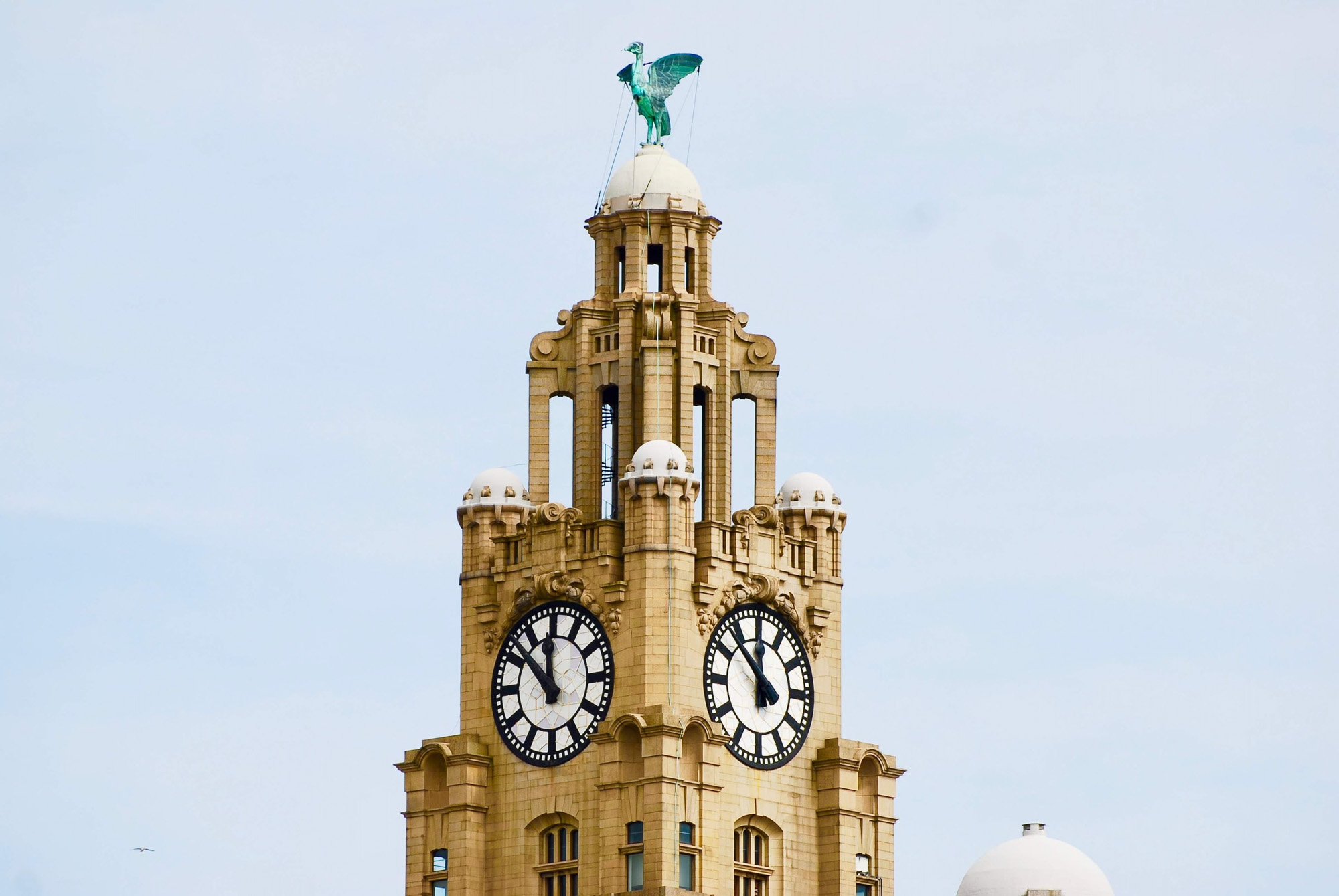 Liver Building. Liverpool with kids.
