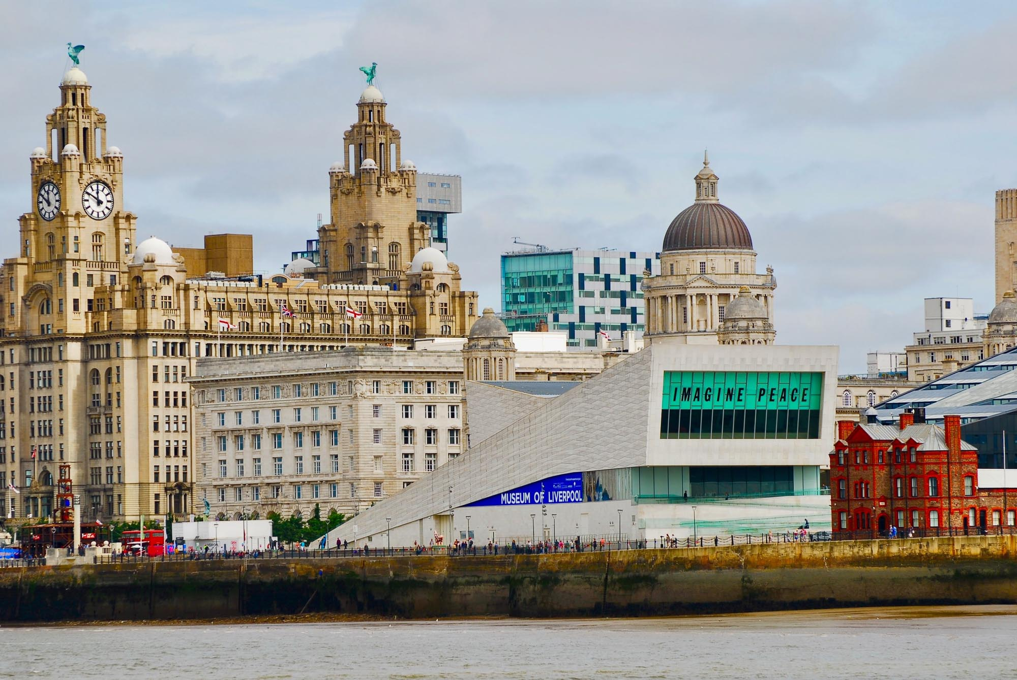 Liverpool with kids. Liverpool Pier Head
