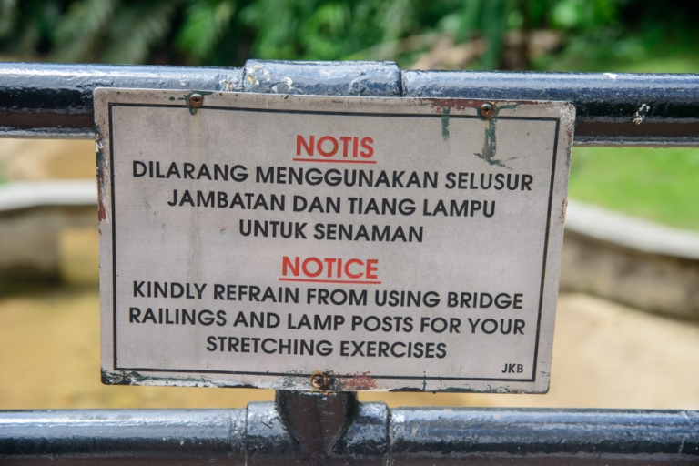Funny signs in SE Asia