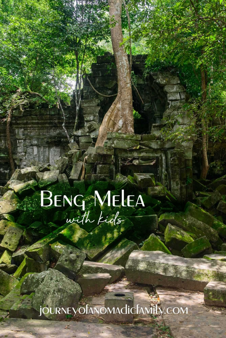 Beng Melea; what it's like to visit with kids and why you should definitely visit. Cambodia.