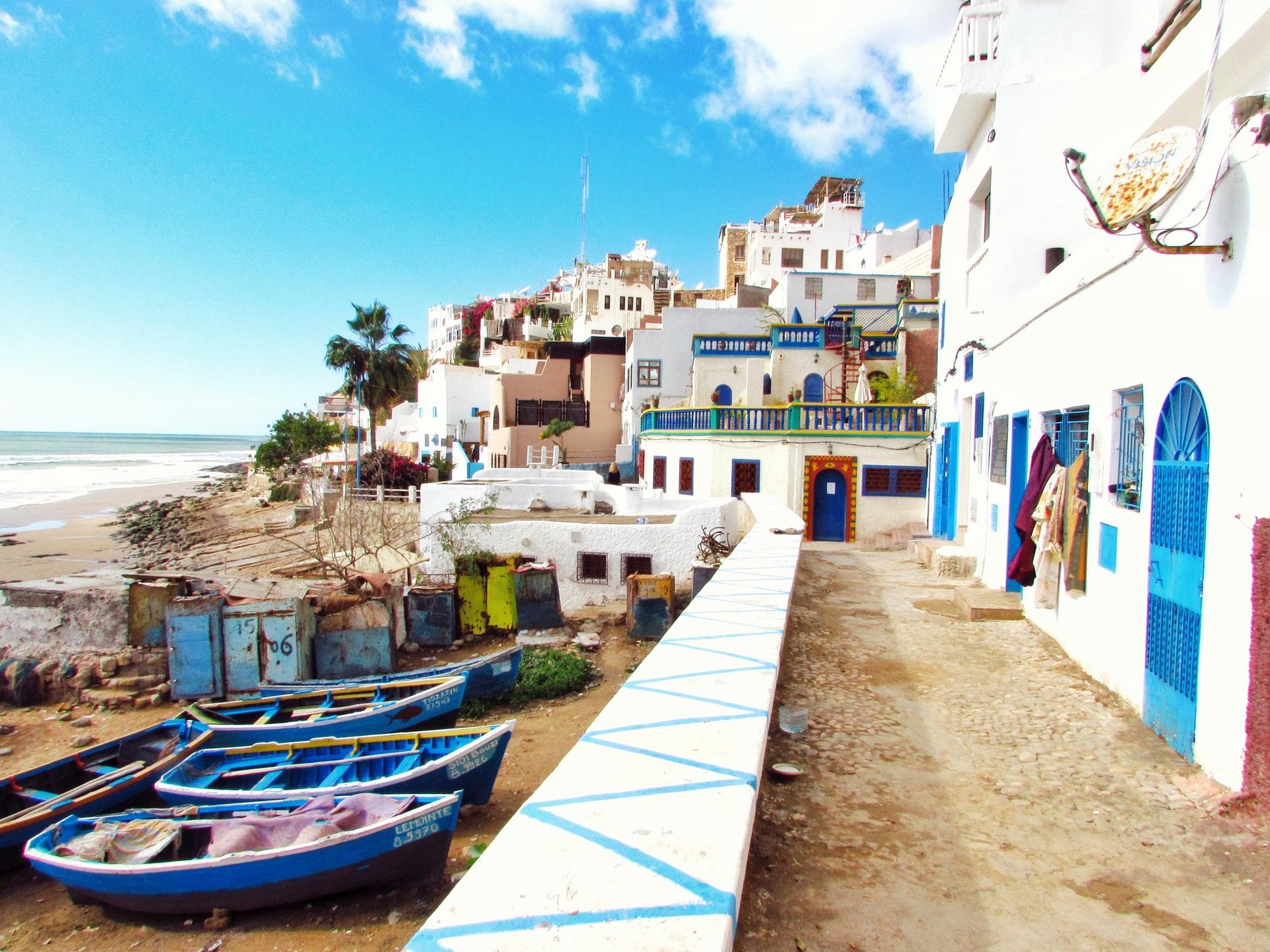 beaches near agadir for kids