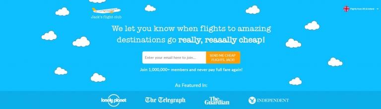 Join Jack's flight club