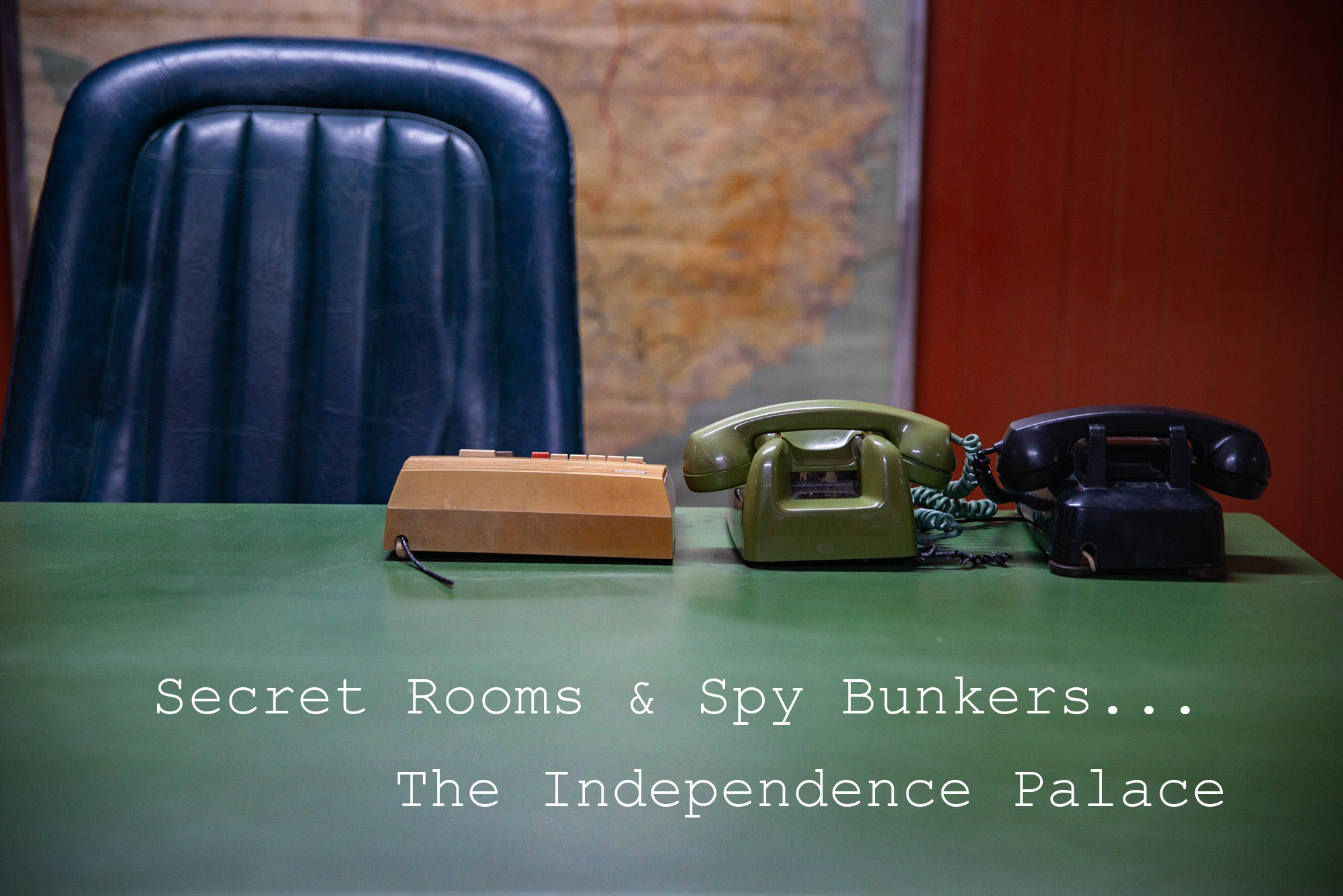 Secret rooms and spy bunkers at Ho Chi Minh City's Independence Palace.