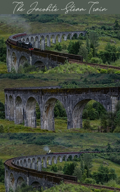 A photo story from our time visiting the Jacobite steam train & Glenfinnan station