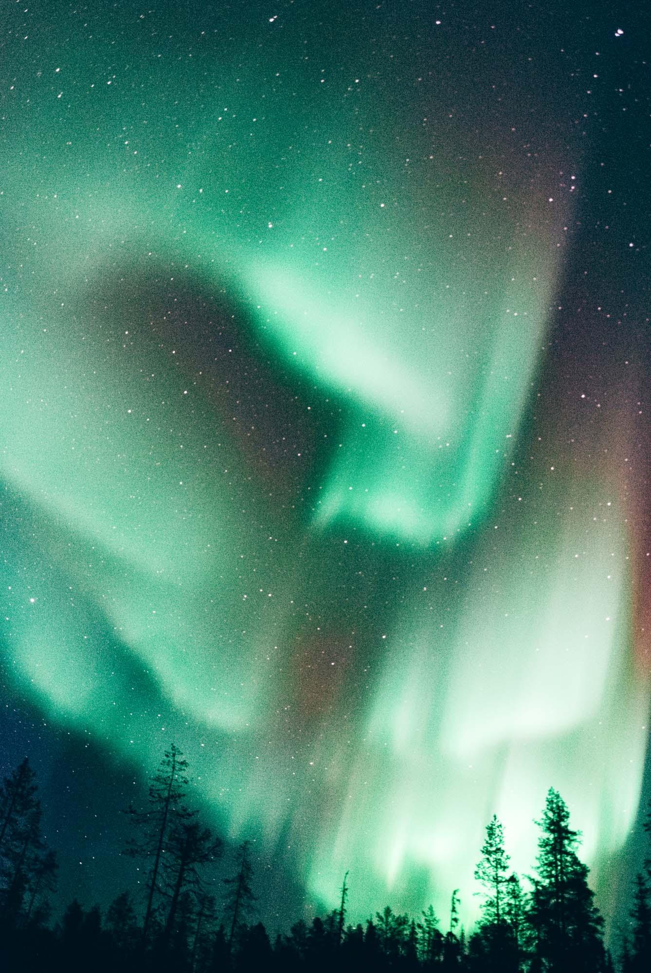 Finland aurora
