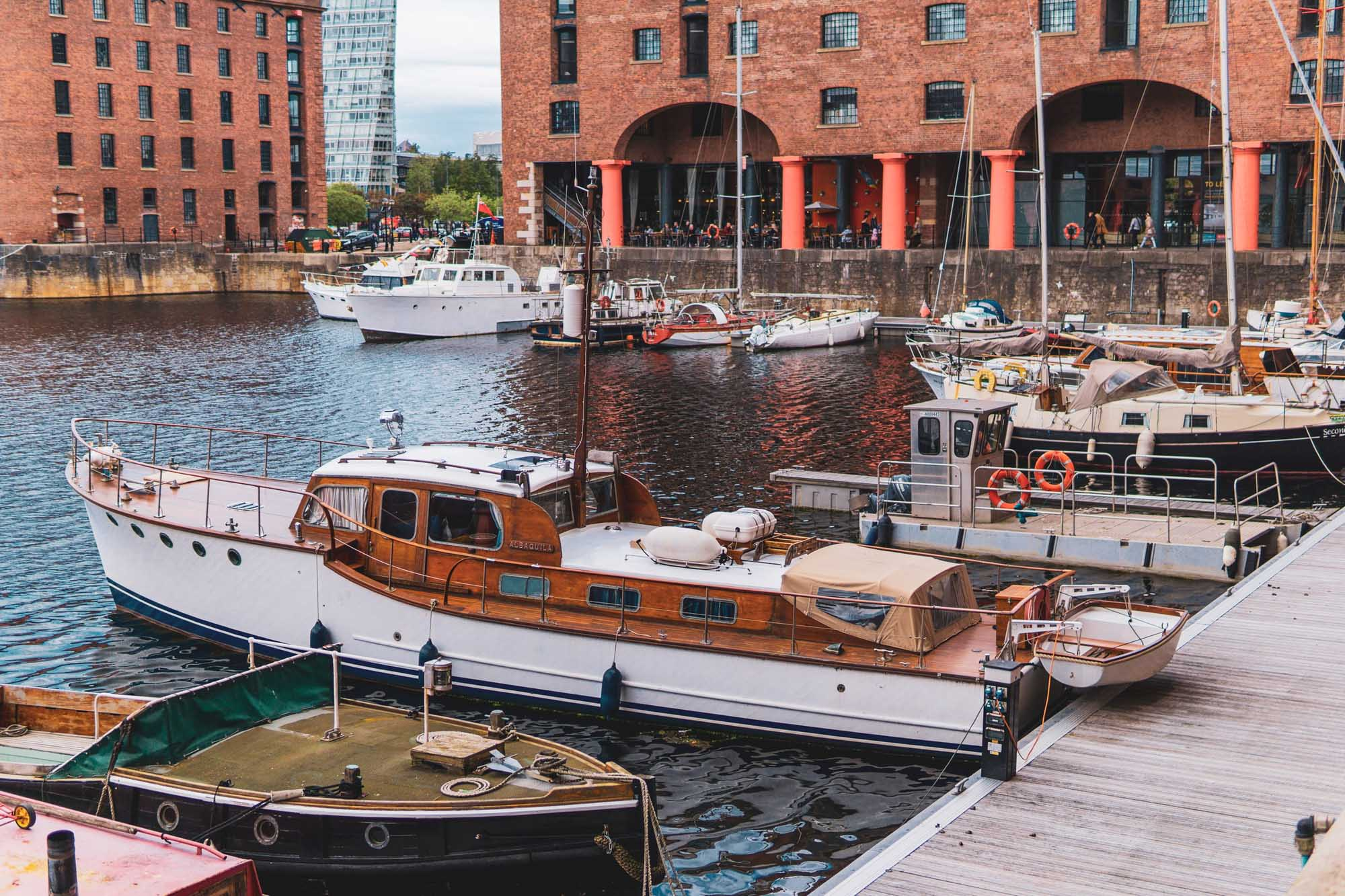 Liverpool On A Long Weekend. The Albert Docks