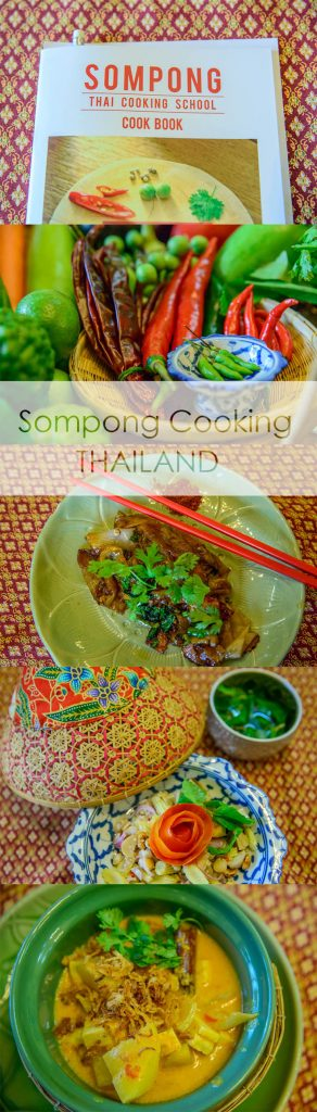 Sompong Cooking school, where dreams do come true. We took our three kids here for a cooking class and they loved it.