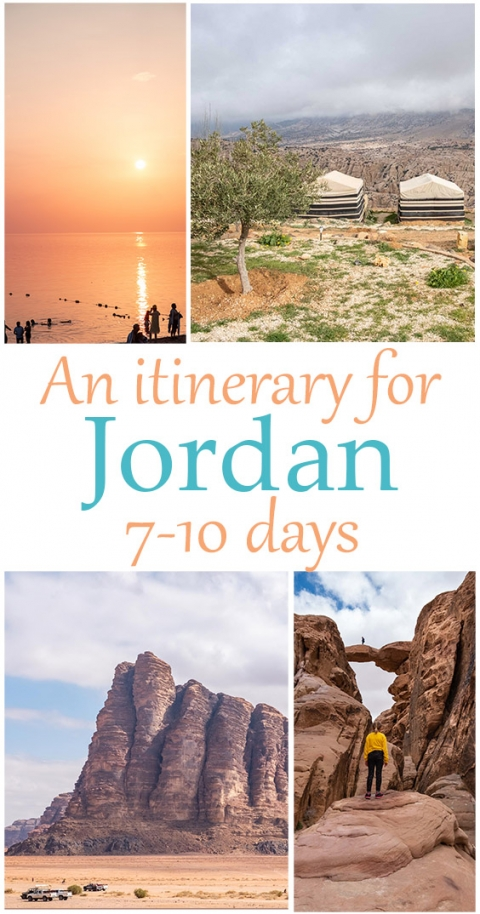 An Itinerary for Jordan for 7-10 days, keeping adventurous kids and families in mind.