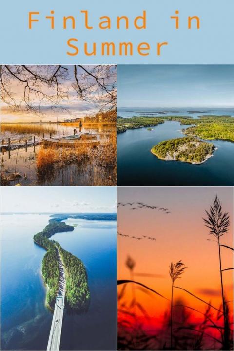 Finland In Summer
