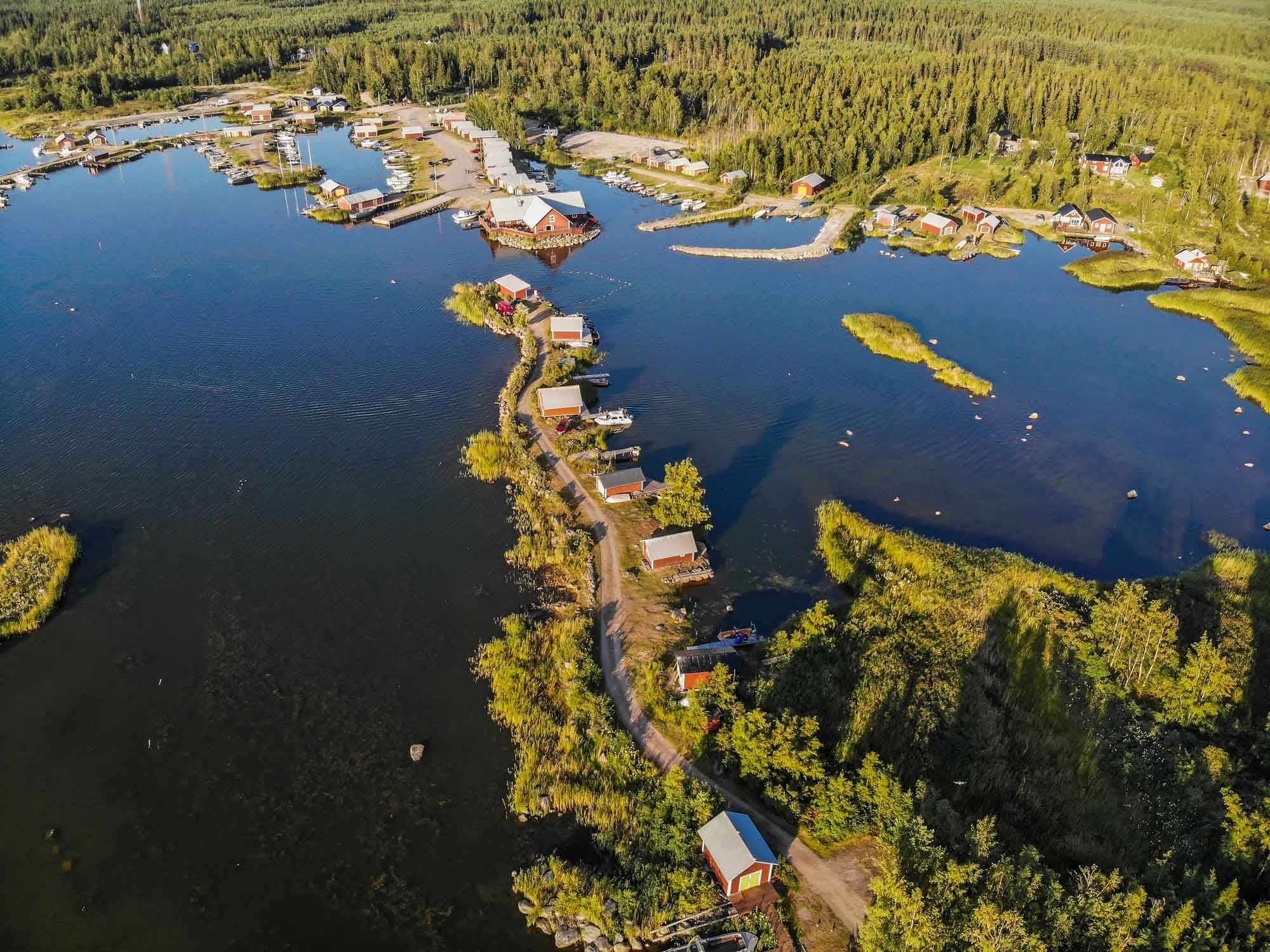 Finland in summer. Kvarken Archipelago