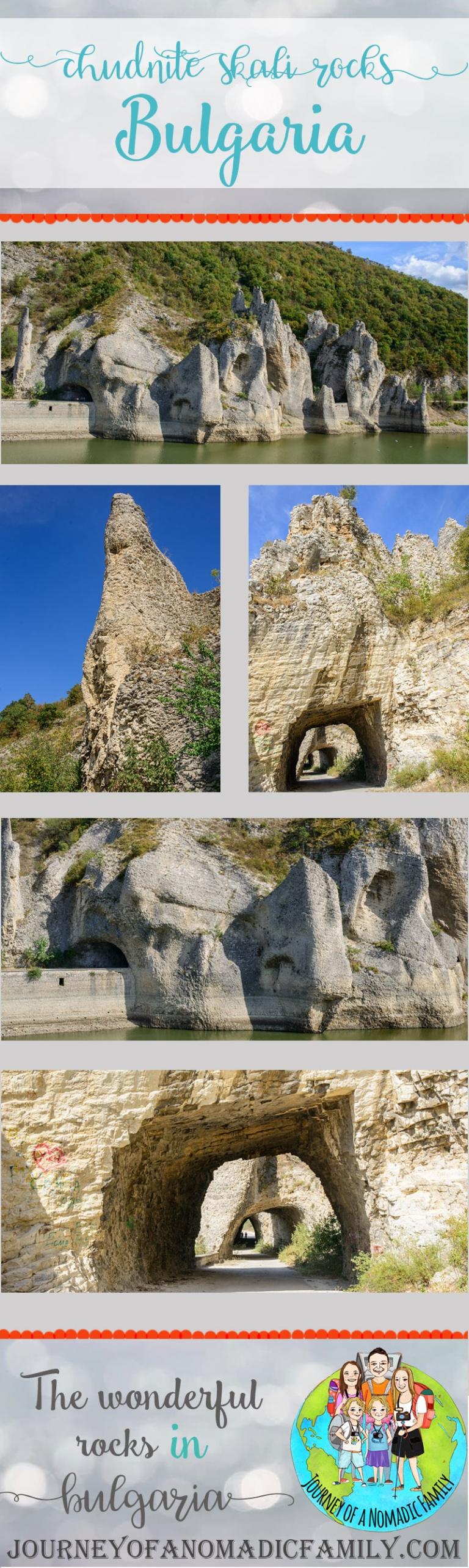 Chudnite Skali or The Wonderful Rocks in Bulgaria. See the video and photos and read what we thought of it.