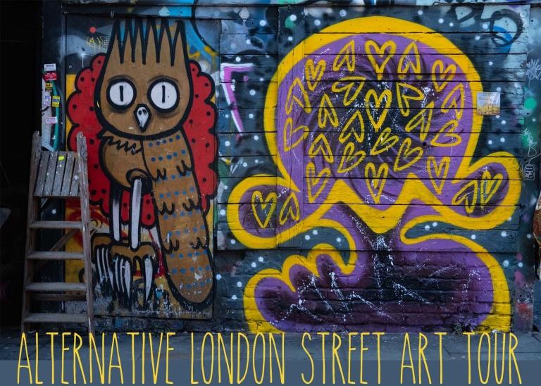 Alternative London Street Art Tour & Graffit Workshop