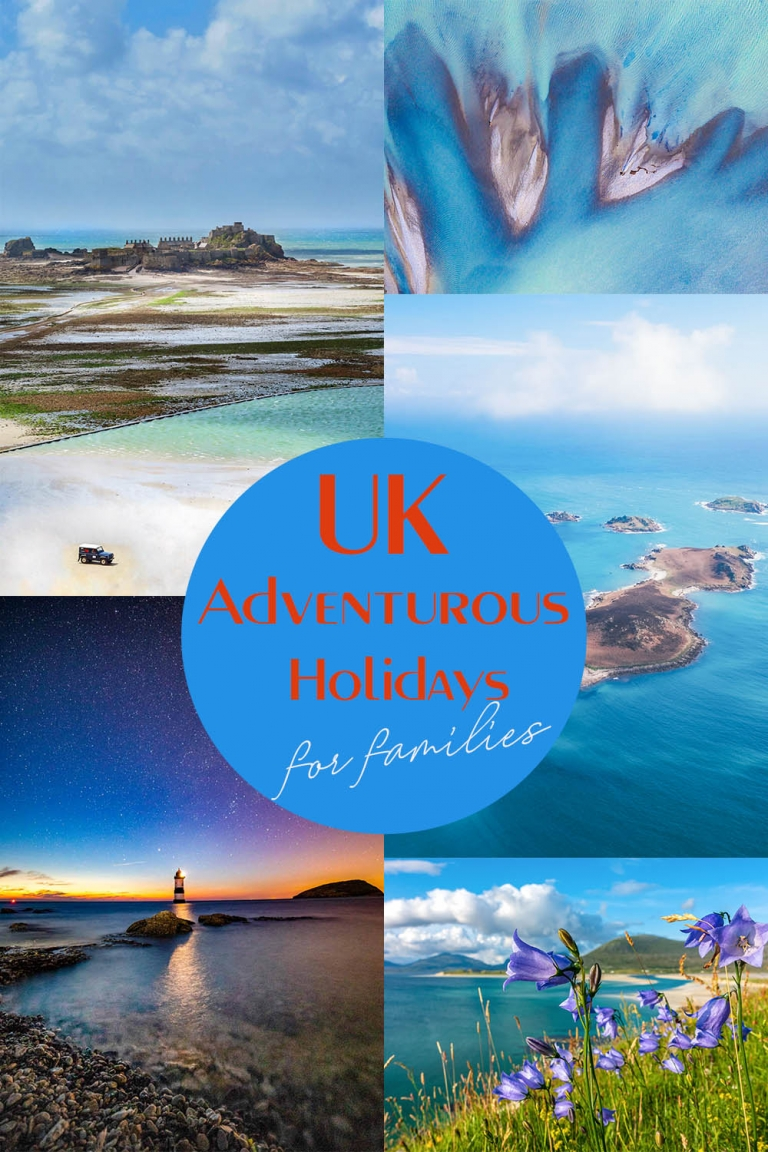 Adventurous UK based holidays for families