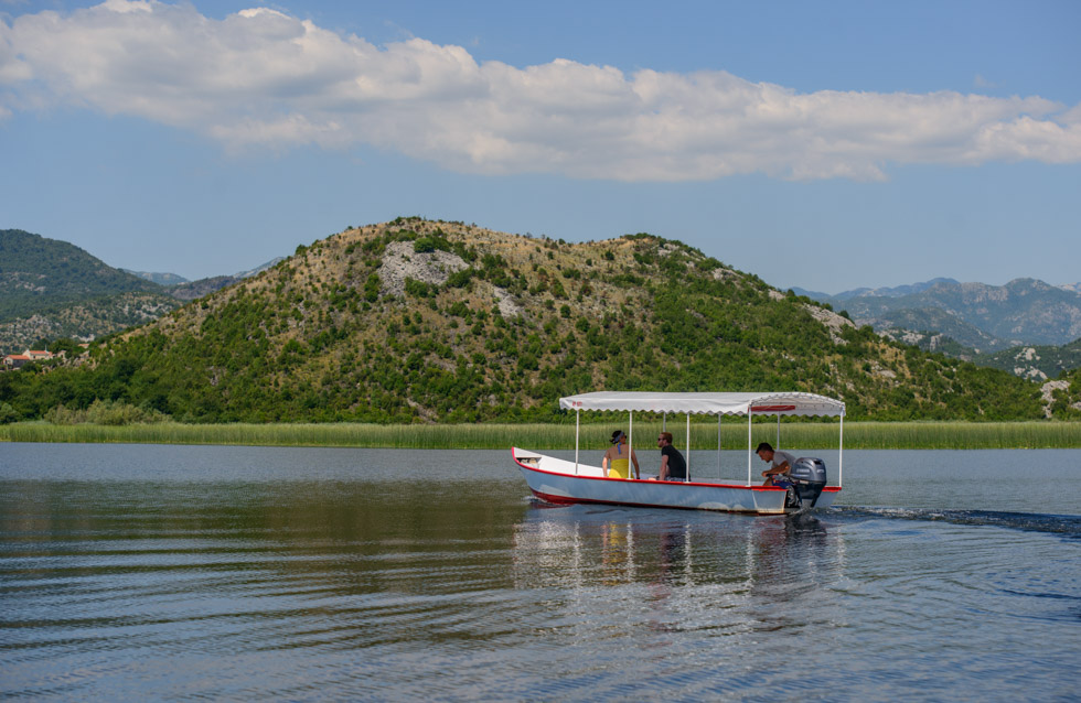 On the River Crnojevica with Mico on Lake Skadar