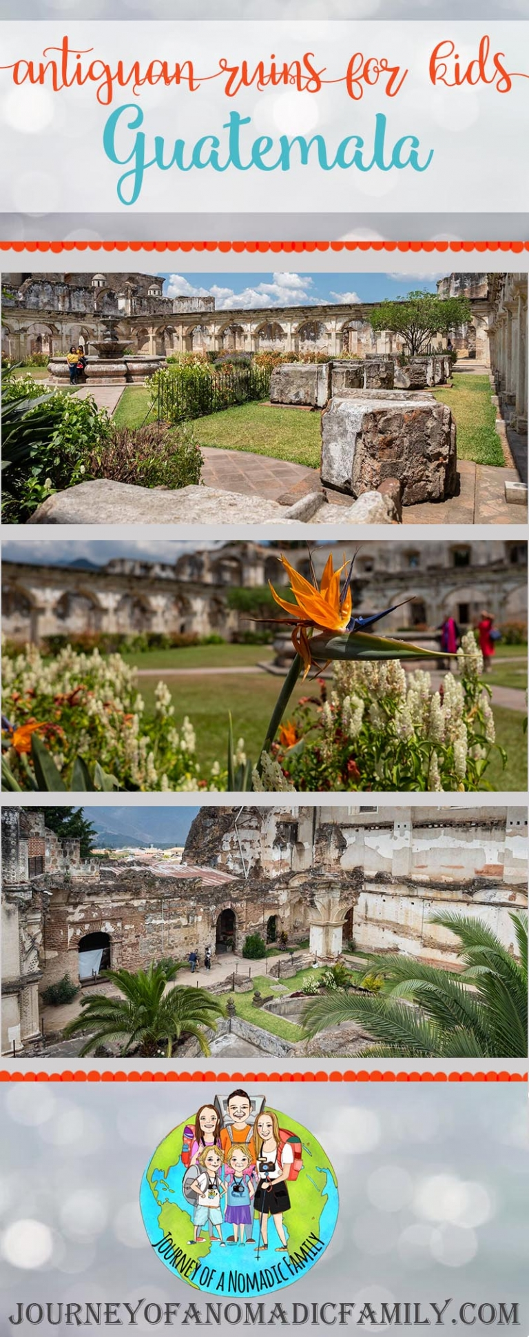 Antigua for kids: 3 glorious ruins that are GREAT for kids to explore.
