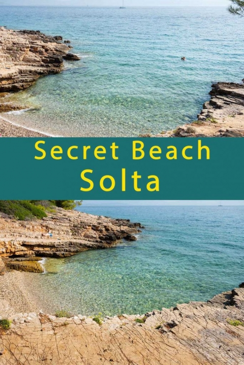 How to find a secret cove on Solta Island in Croatia