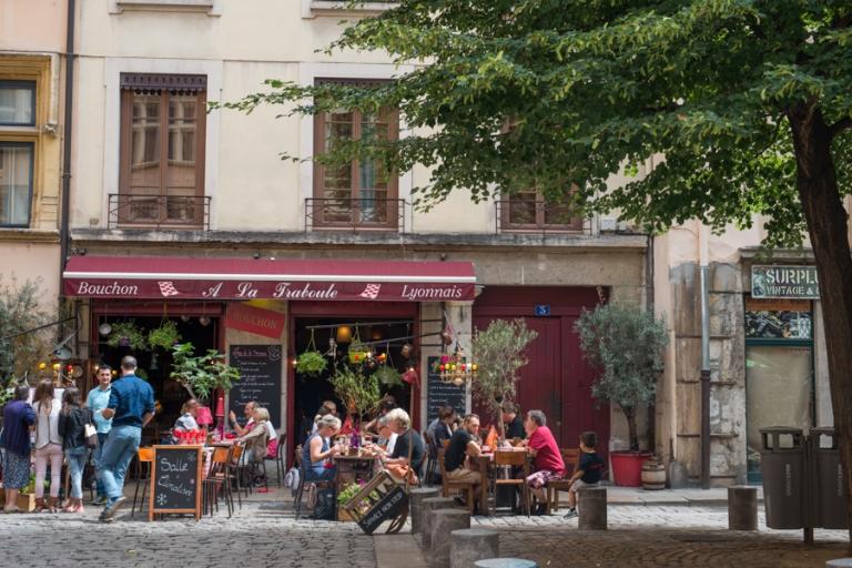 Vieux Lyon with kids
