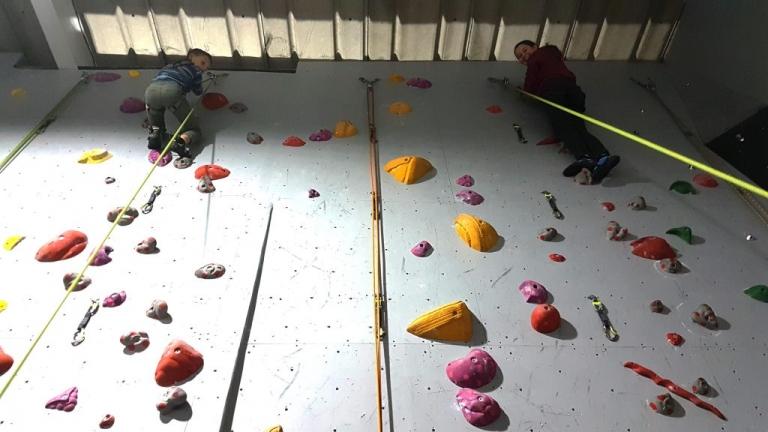 Highball climbing