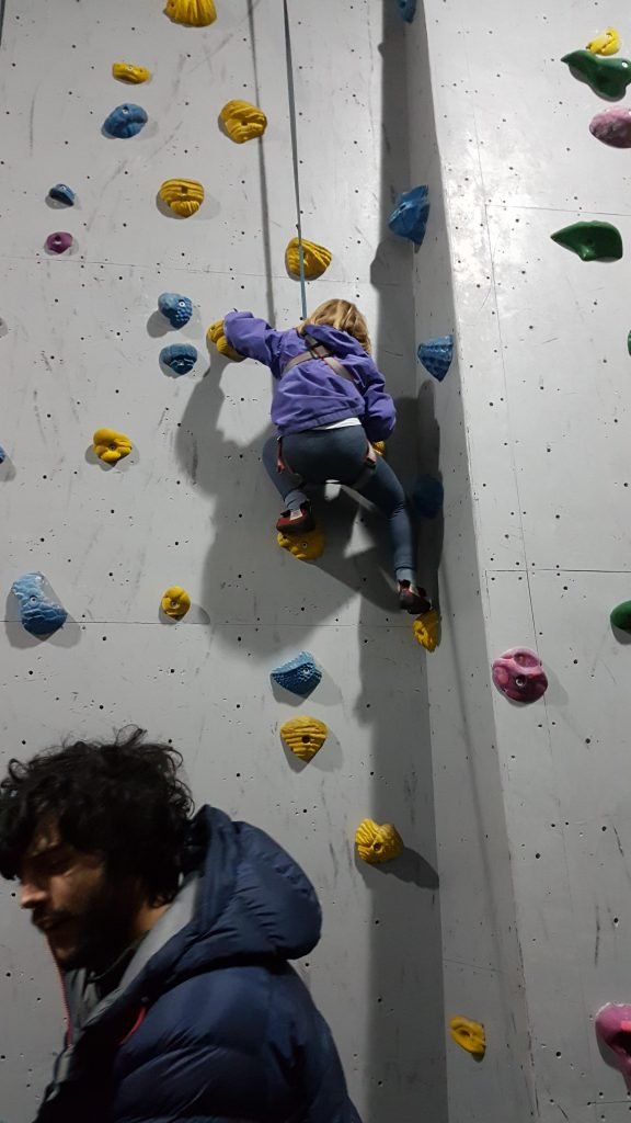 Highball climbing