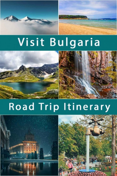 Visit Bulgaria. Road Trip itinerary. Where to stay & what to do. Itinerary for 10 & 14 days.
