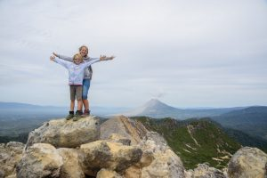 How to trek Sibayak Volcano with kids ALONE. Sumatra