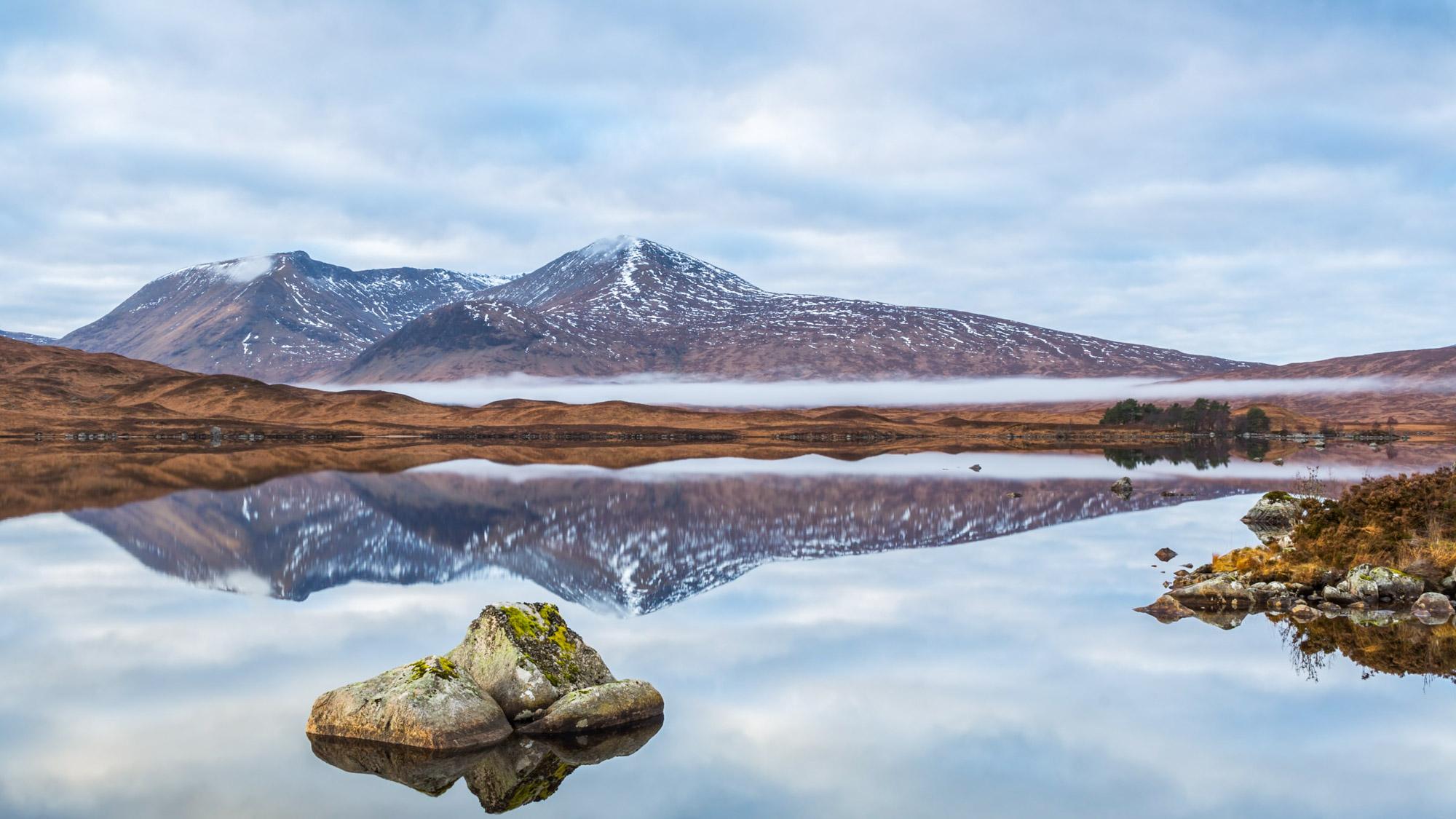 Scotland Winter Mountains
