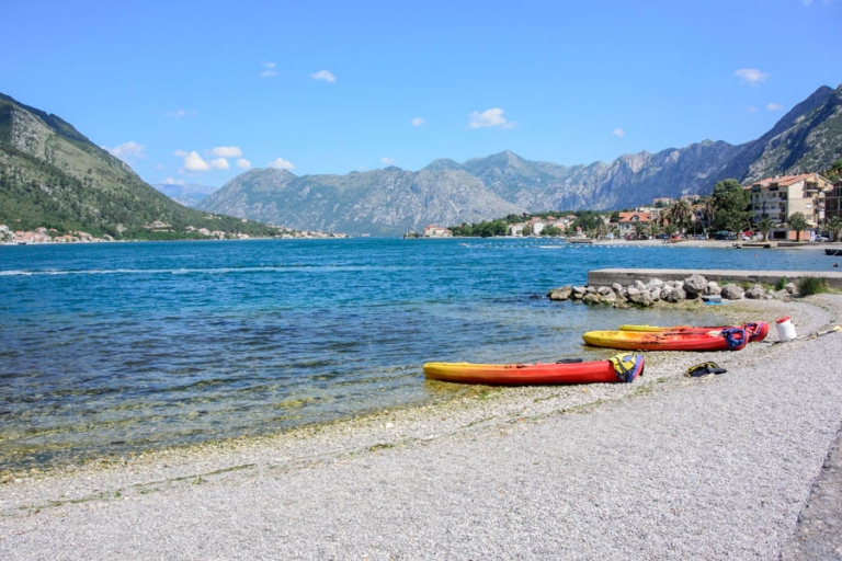 How to canoe the bay of Kotor & those glorious turquoise waters
