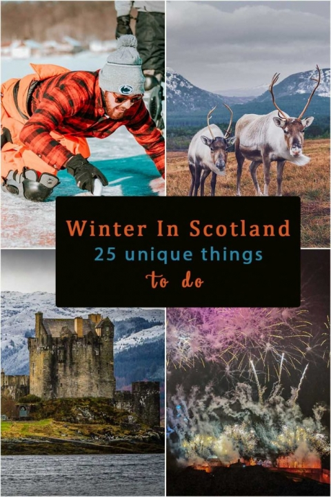 winter in scotland 25 unique things to do