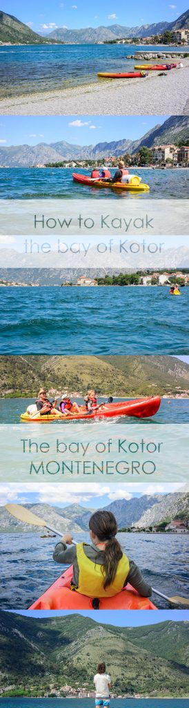 How to kayak the Bay of Kotor. If you're up for a bit of adventure, this is the post for you!