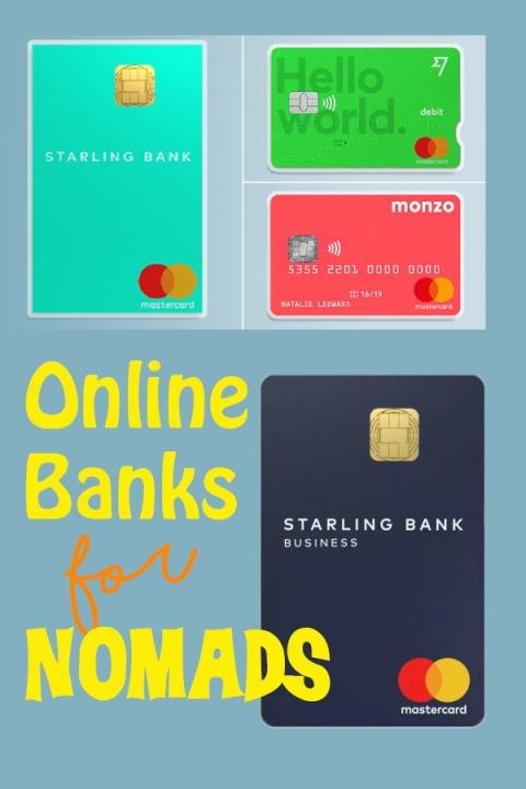 Online banks that are perfect for nomads and travellers