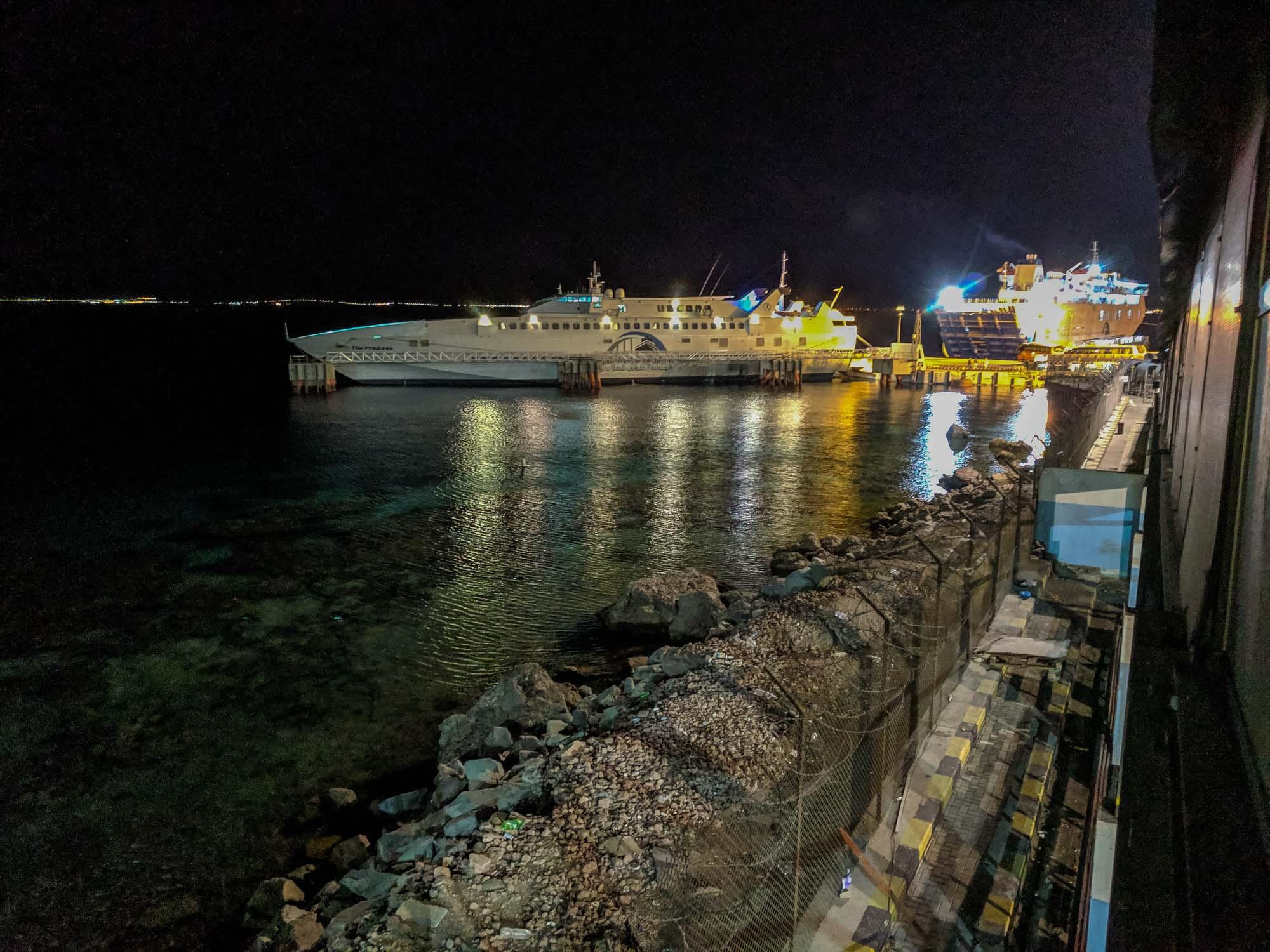 ferry from Jordan