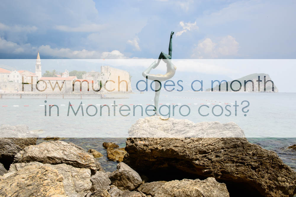 How much has a month in Montenegro cost us?
