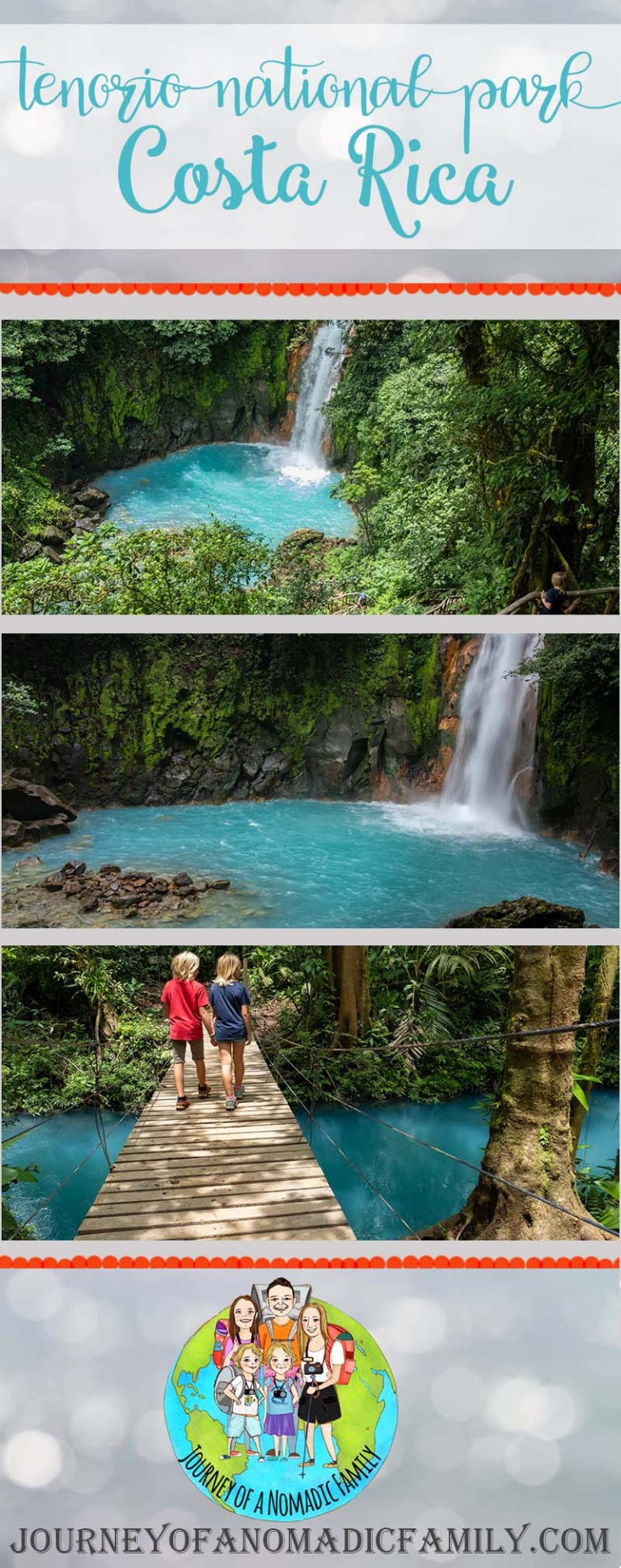 Why we think Tenorio National Park is the best national park in Costa Rica for kids!