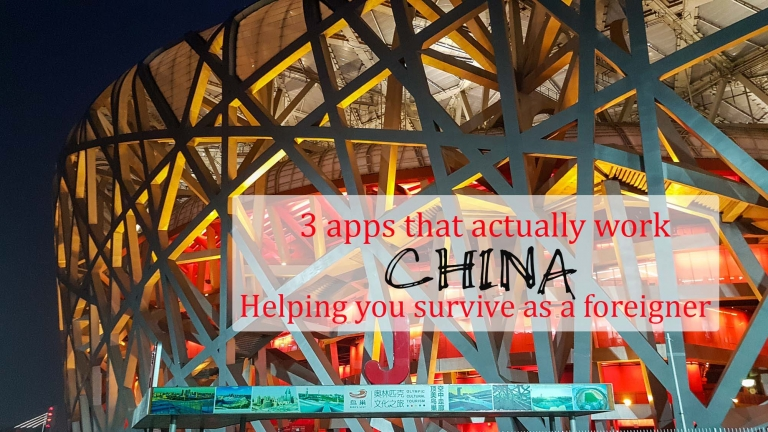3 apps that actually work in China to help you survive as a foreigner