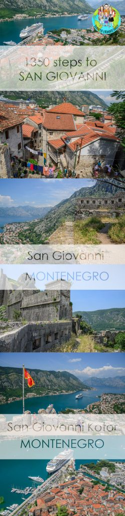 1350 steps up to San Giovanni's Fortress in Kotor is a picturesque walk filled with ancient architecture, nature and great views over the bay of Kotor.
