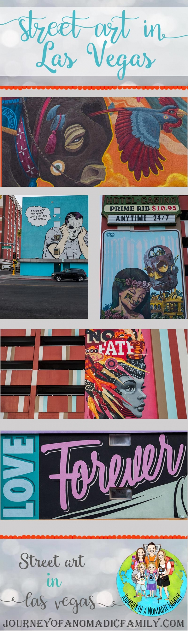 Where to find street art in Las Vegas