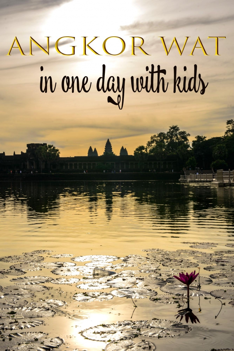 How to do Angkor wat in one day with kids and make it fun!