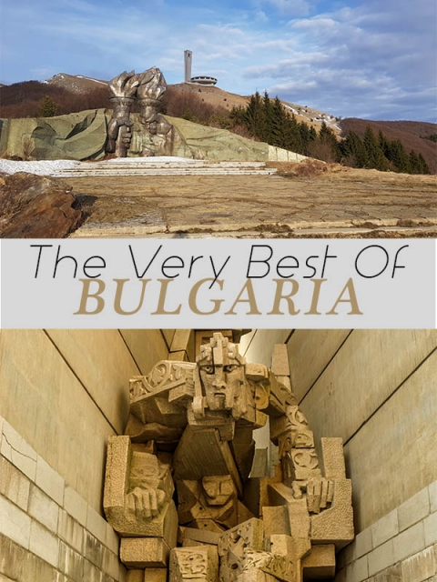 the very best of where to visit on your trip to Bulgaria