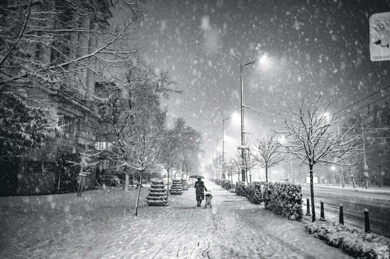 Bulgarian House In Winter