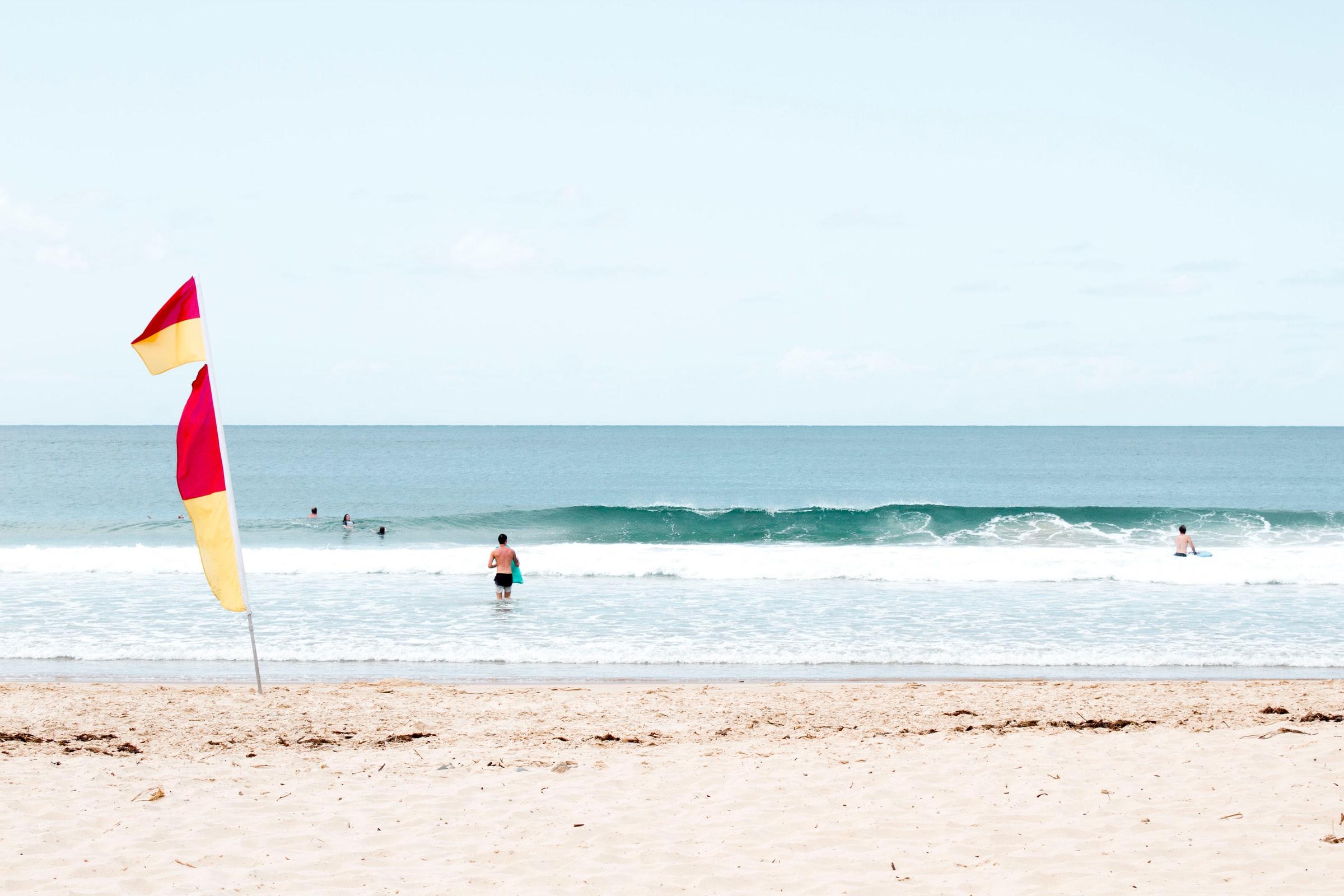 Mooloolab Spit beach