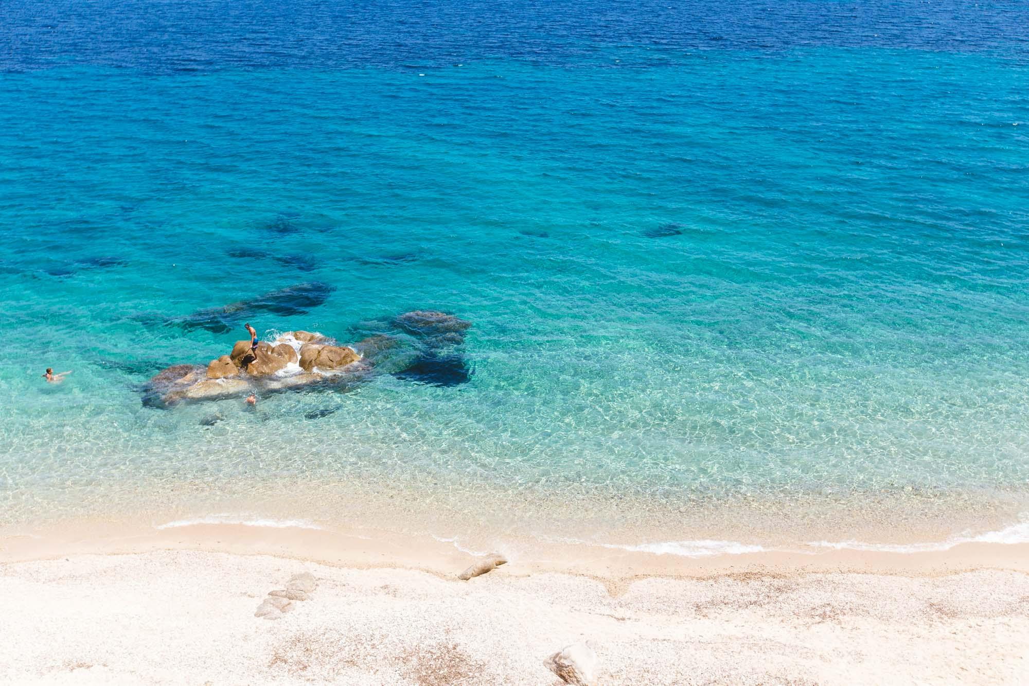 Fava Beach, Karidi, Greece