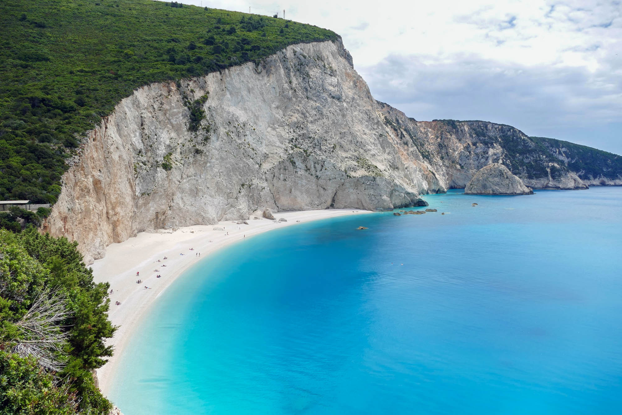 Quiet greek islands Lefkada