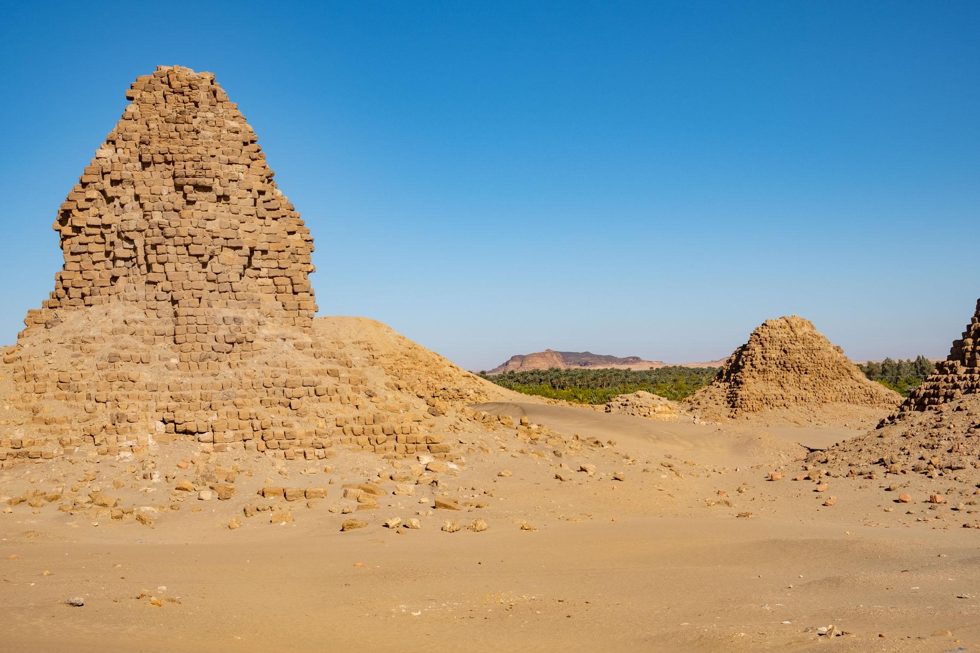 Nuri Pyramids Sudan