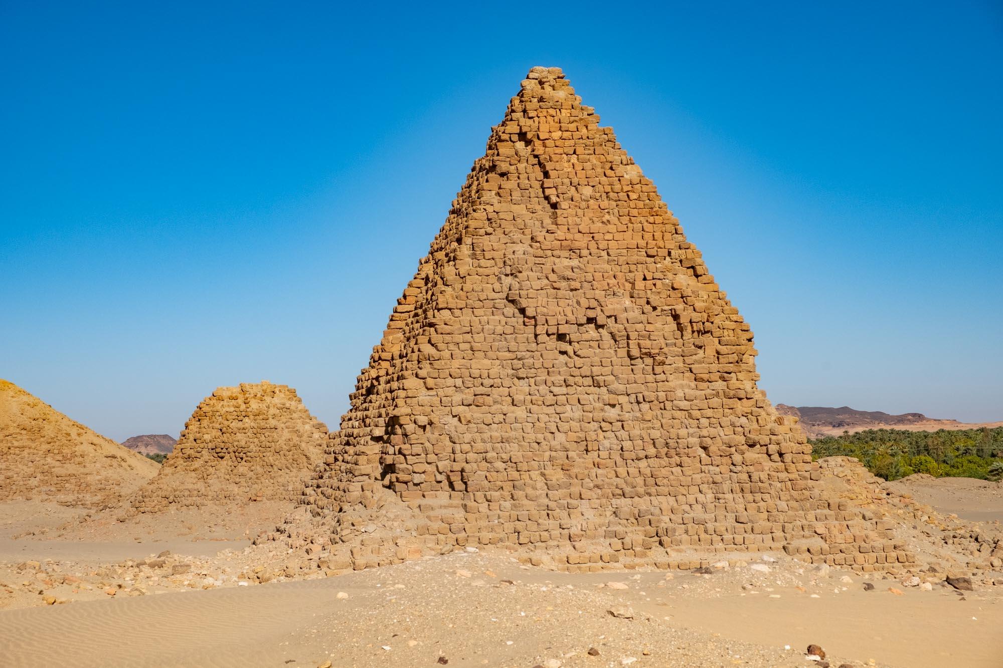 Sudan Nuri Pyramids Black Pharoahs