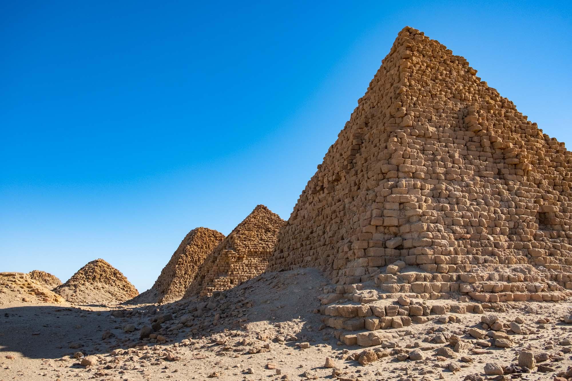 Nubian Nuri Pyramids