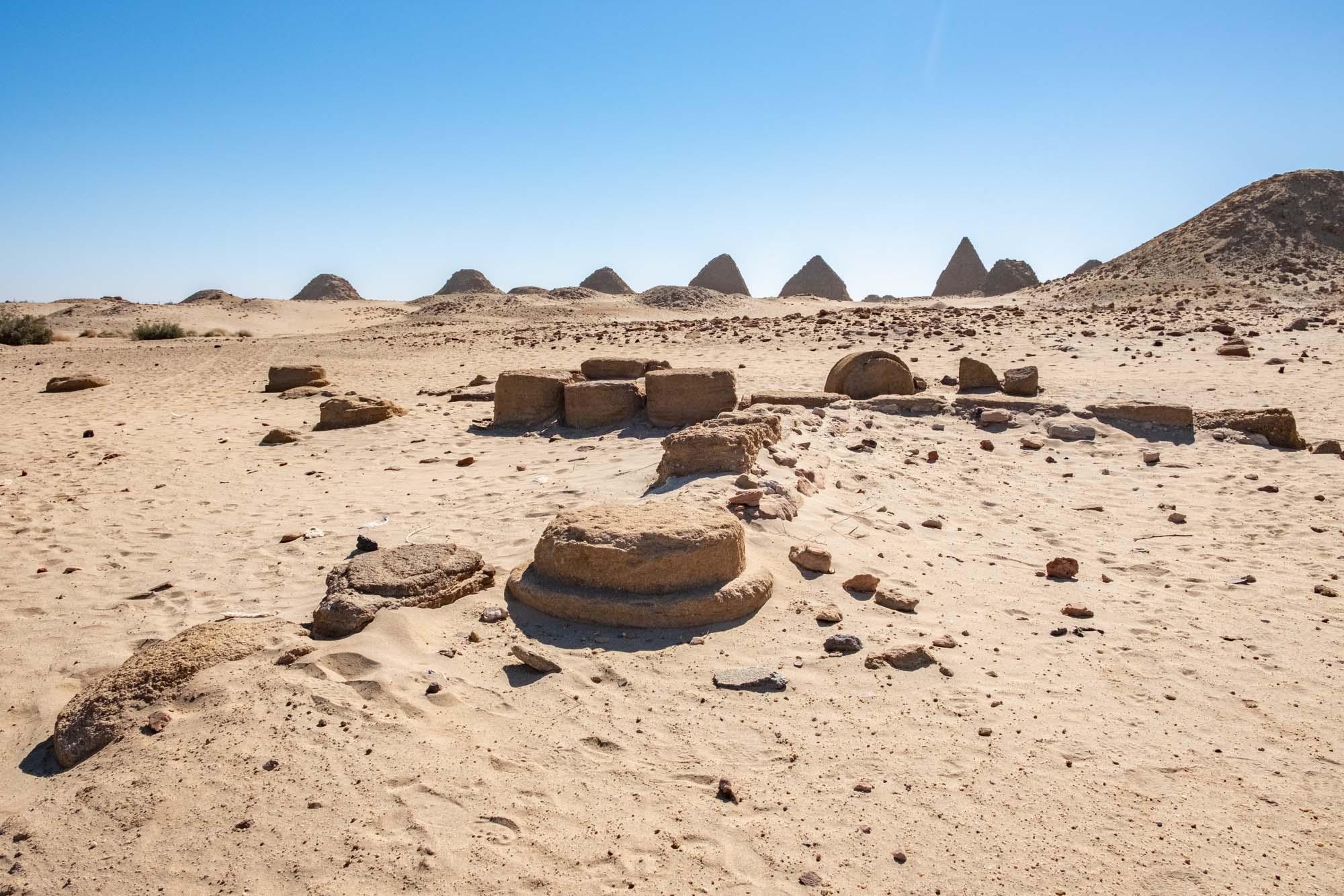 Nuri Pyramids Nubia