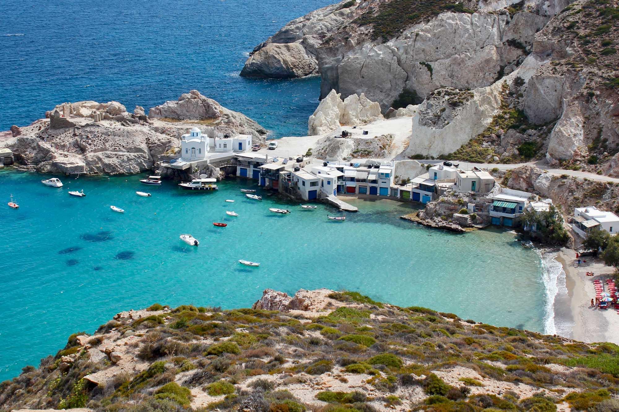 Quiet Greek Island