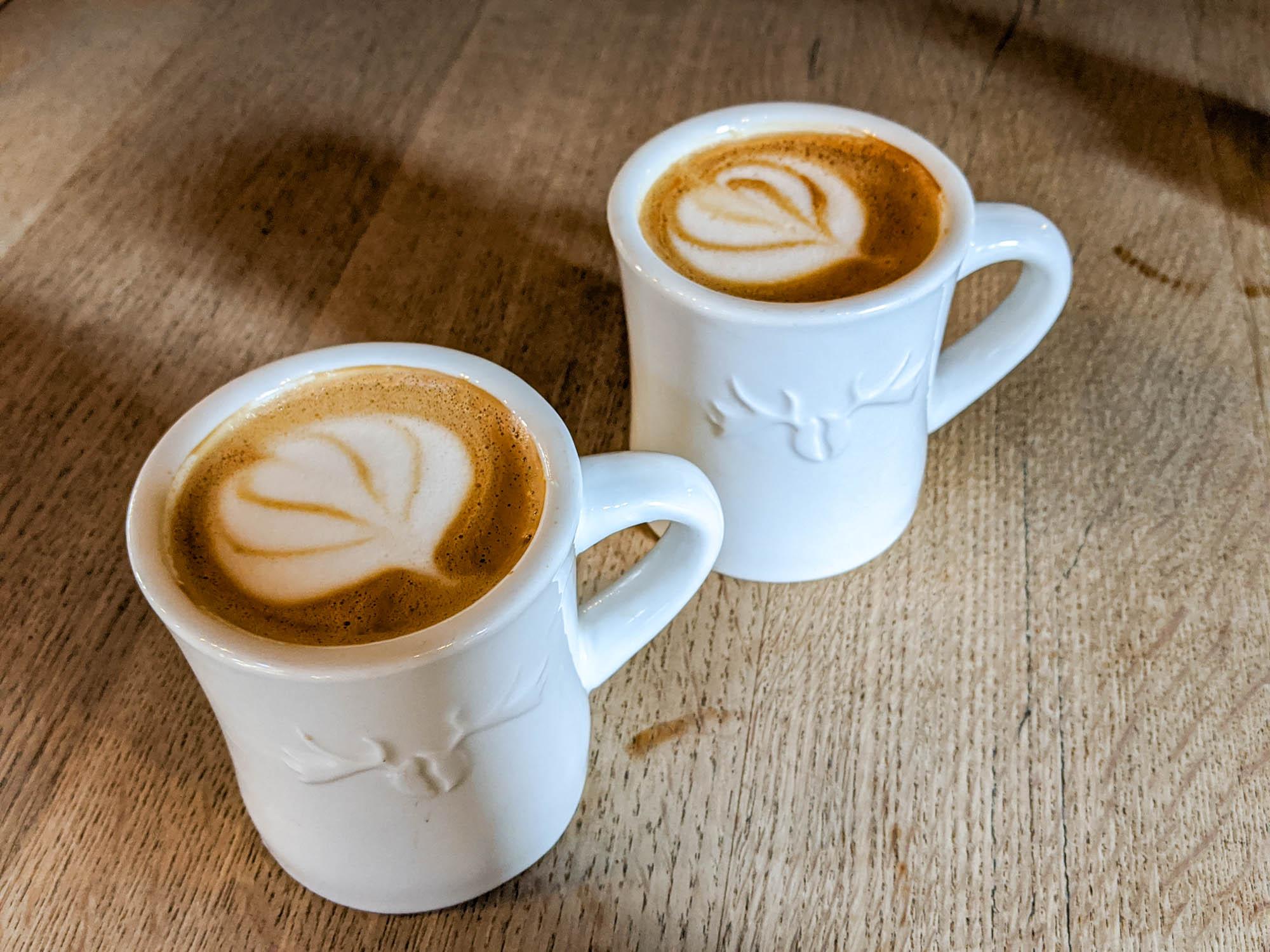 Moose salted caramel latte