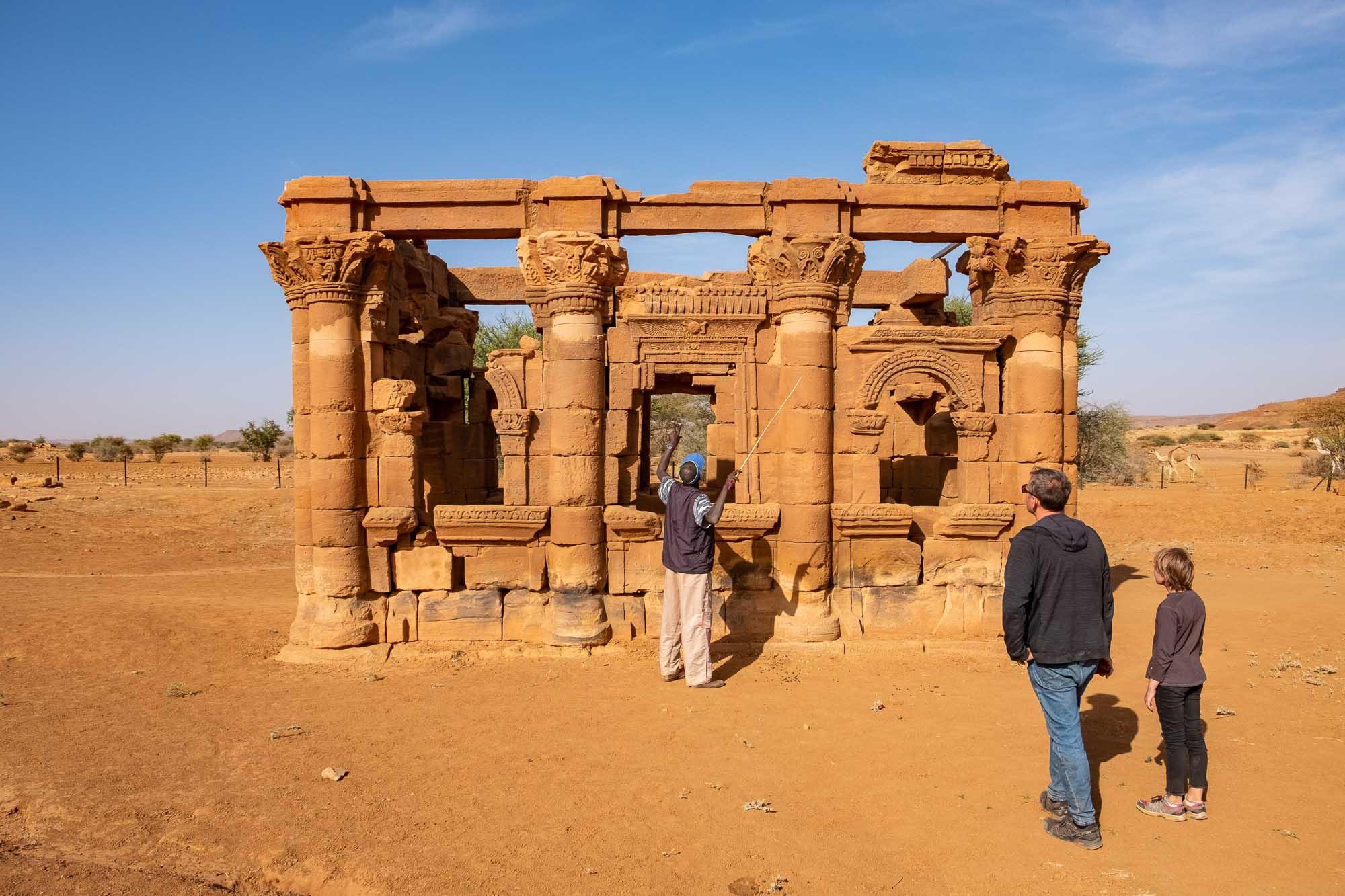 Naqa Hathor Chapel Roman Kiosk