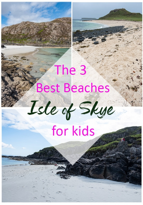 Our choice of three brilliant beaches for kids on the Isle of Skye